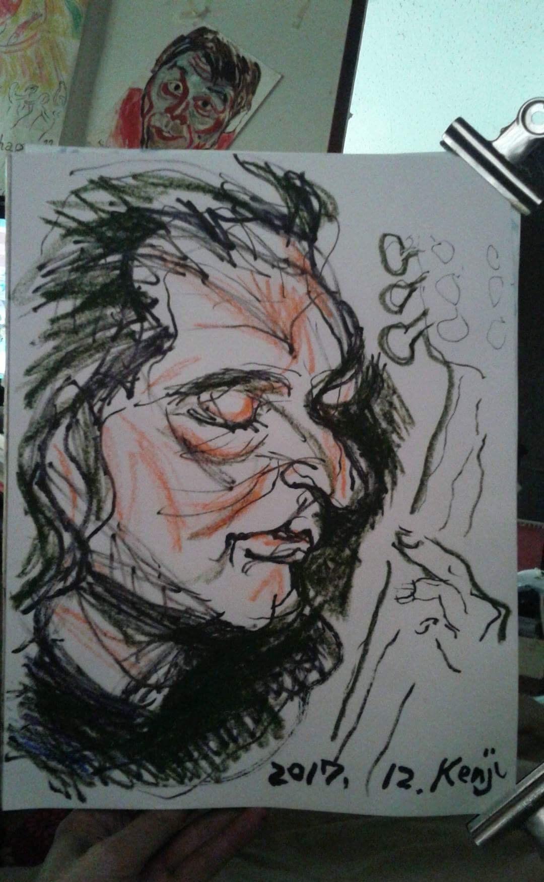 Kenji Tanaka, Dario Chillemi's portrait.